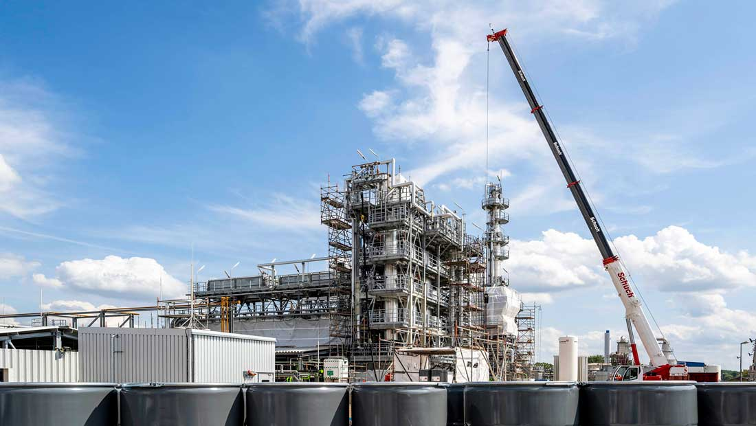 Hydrogenation plant for Pentane production: Supply security for companies