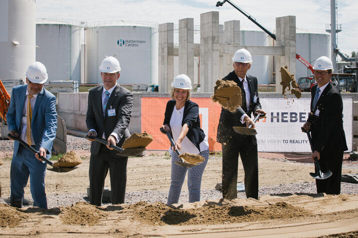 Haltermann Carless celebrates start of construction of new hydrogenation plant