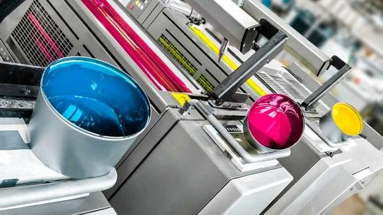 Printing ink distillates