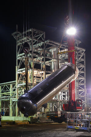 pic_Haltermann Carless-Installation Reaction Vessel 2020-Hydrogenation Plant