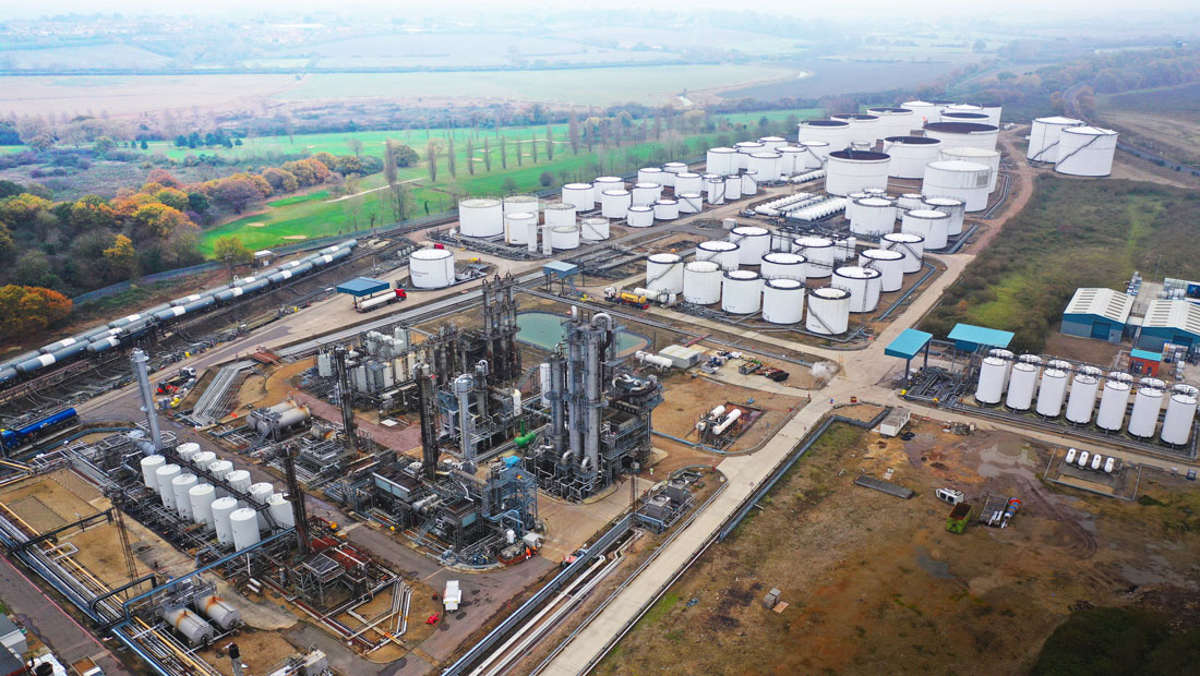 Haltermann-Carless Produktionsstandort Harwich