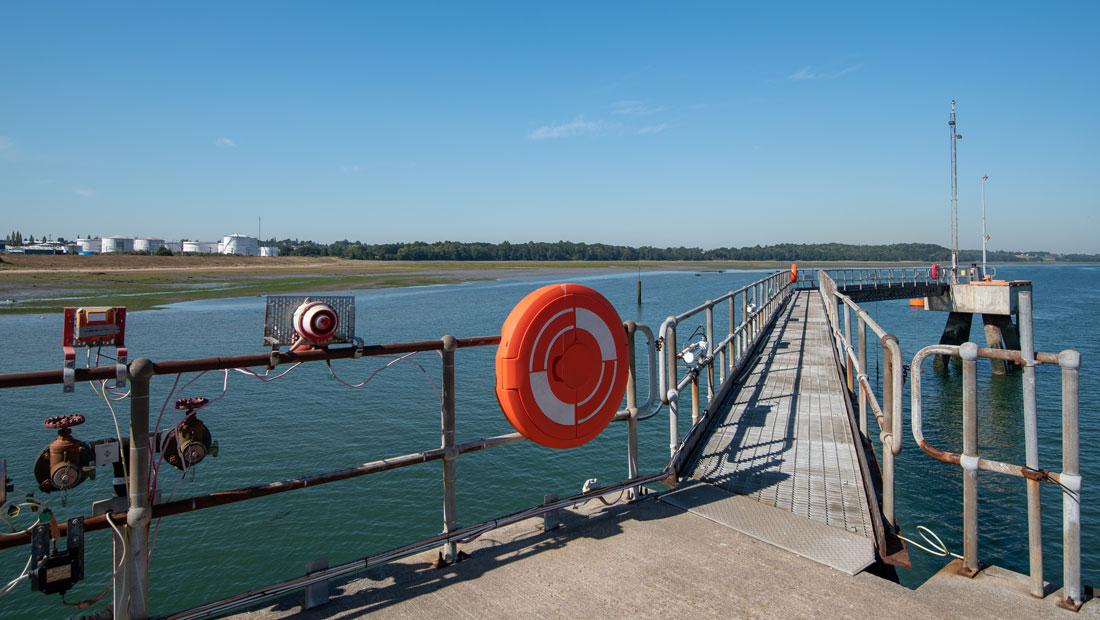Haltermann Carless Harwich Hafen