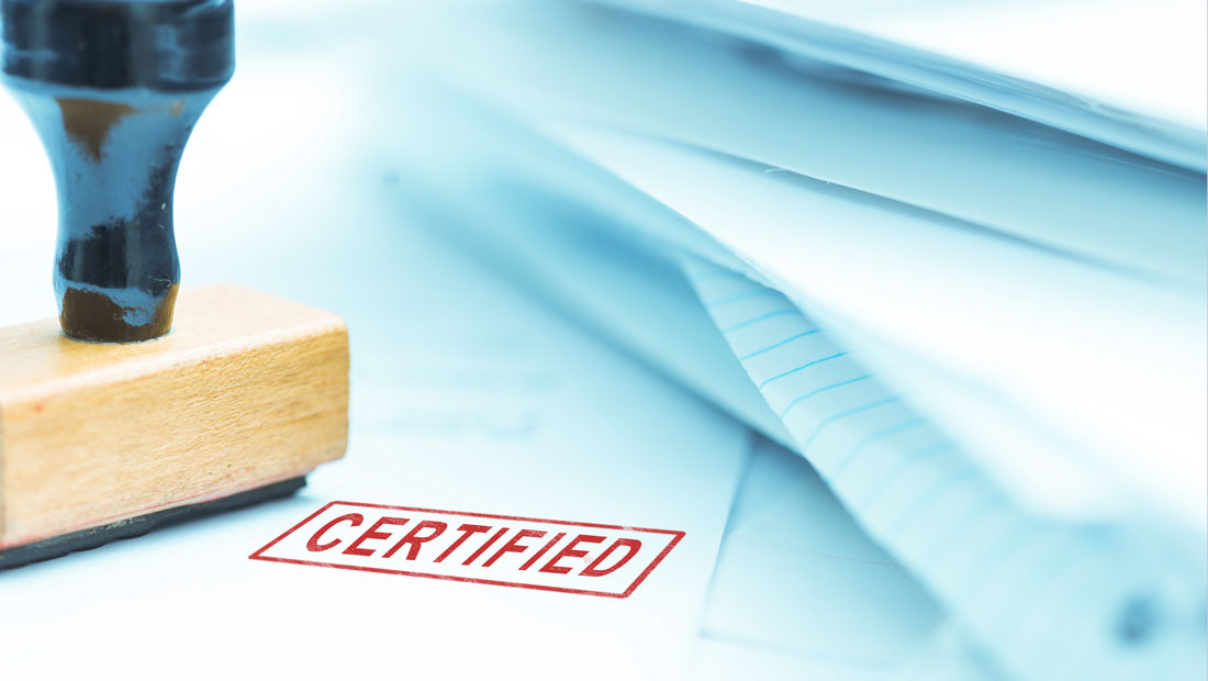Haltermann Carless Certificates
